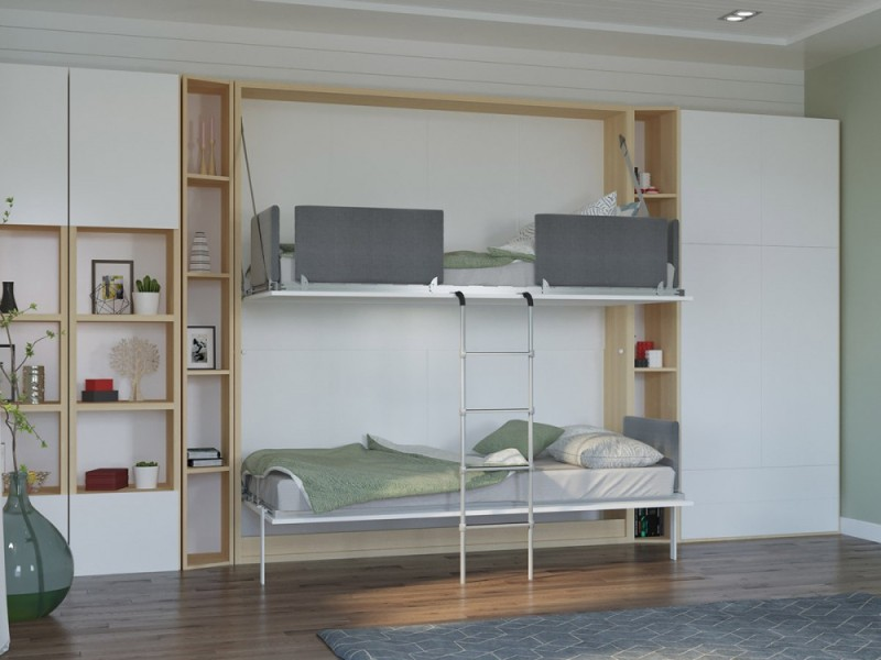 Image of: Double Murphy Bunk Beds