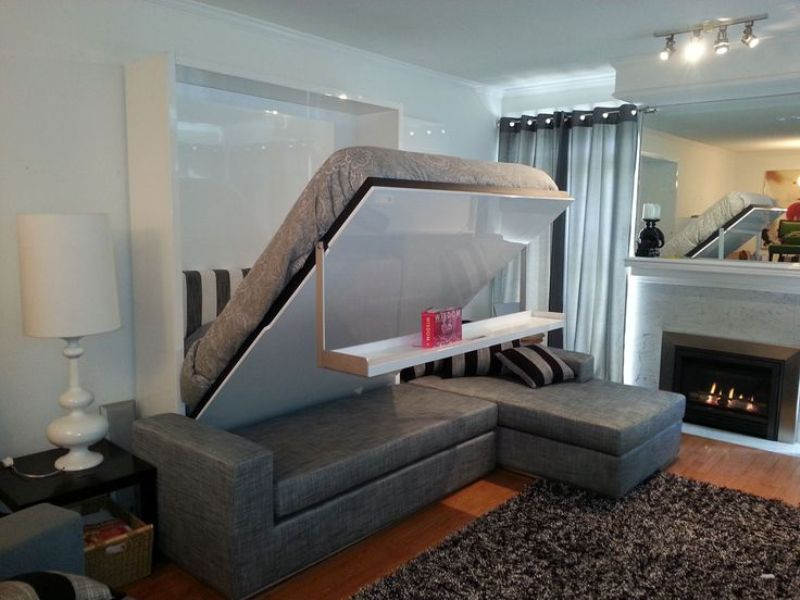Horizontal Murphy Bed Frame