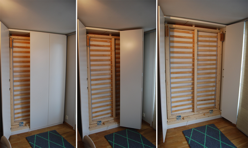 Ikea Murphy Bed With Desk