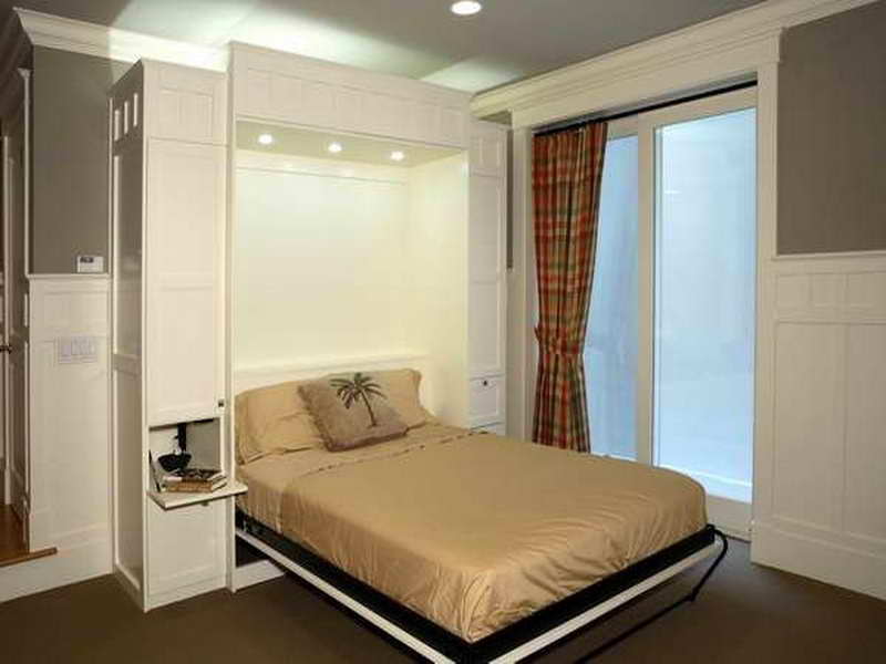 Image of: Ikea Murphy Bed Frame