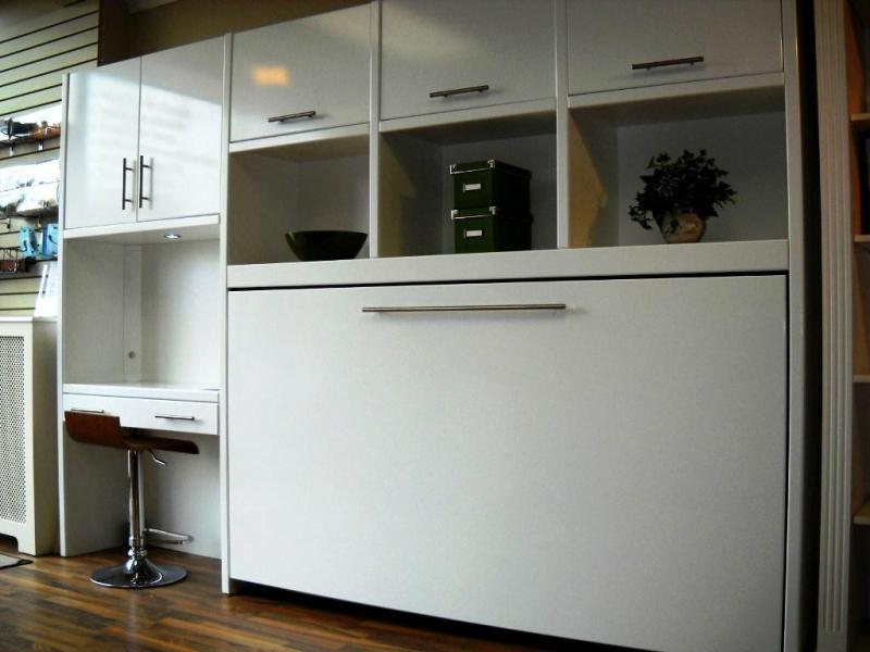 Image of: Murphy Bed Cabinet Ikea