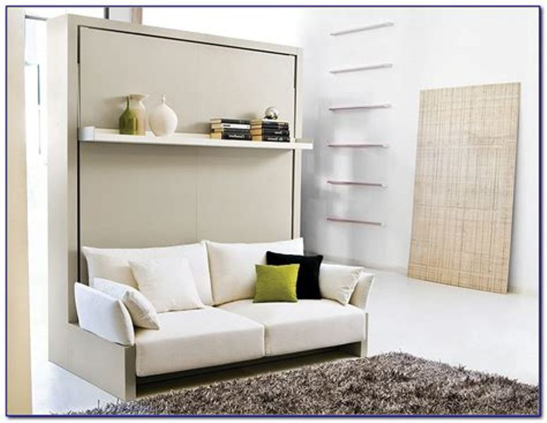 Image of: Murphy Bed Couch Ikea