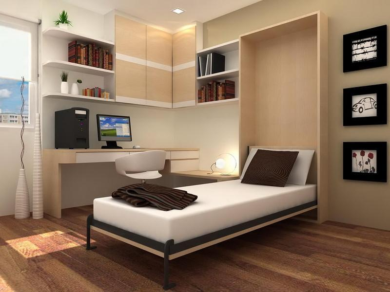 Image of: Murphy Bed Twin Size