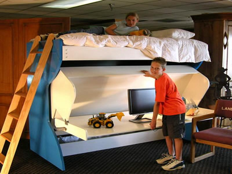 Image of: Murphy Bunk Beds For Kids