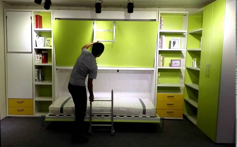 Image of: Murphy Style Bunk Beds