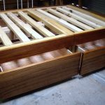 Queen Size Bed Frame With Drawers
