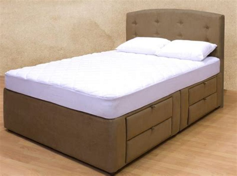 Picture of: Queen Size Bed Frame With Drawers Type