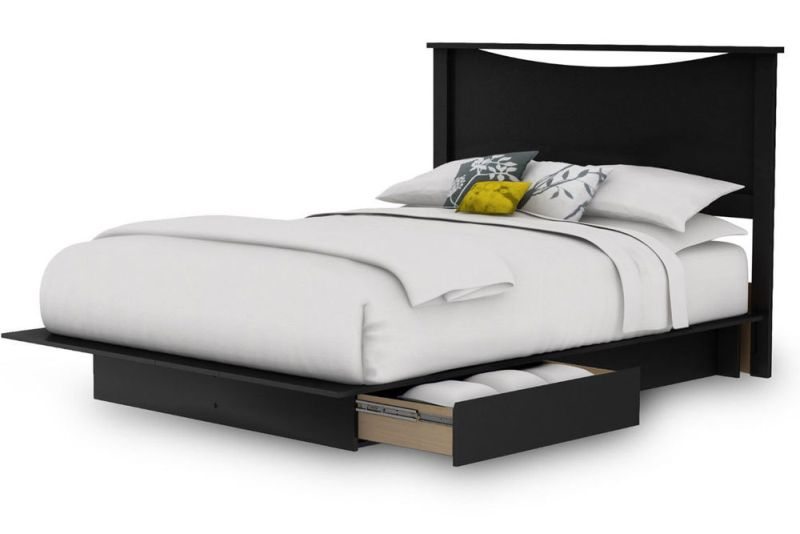 Picture of: Queen Size Bed Frame With Storage Drawers