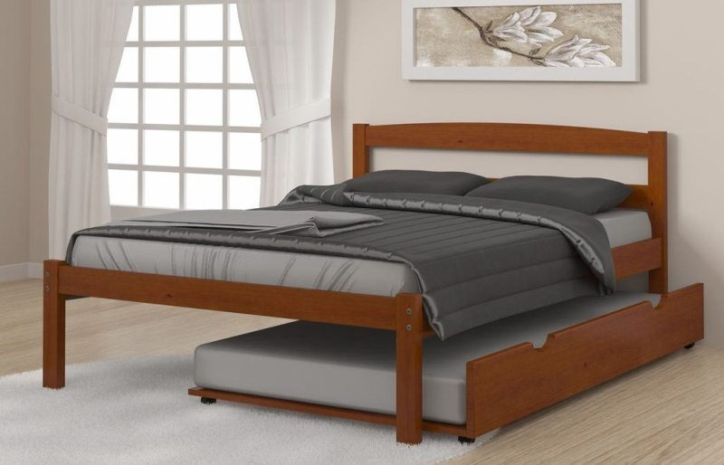 Image of: Simple Trundle Bed With Drawers Ideas
