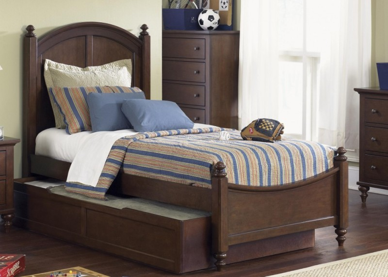 Image of: Trundle Bed With Storage Drawers