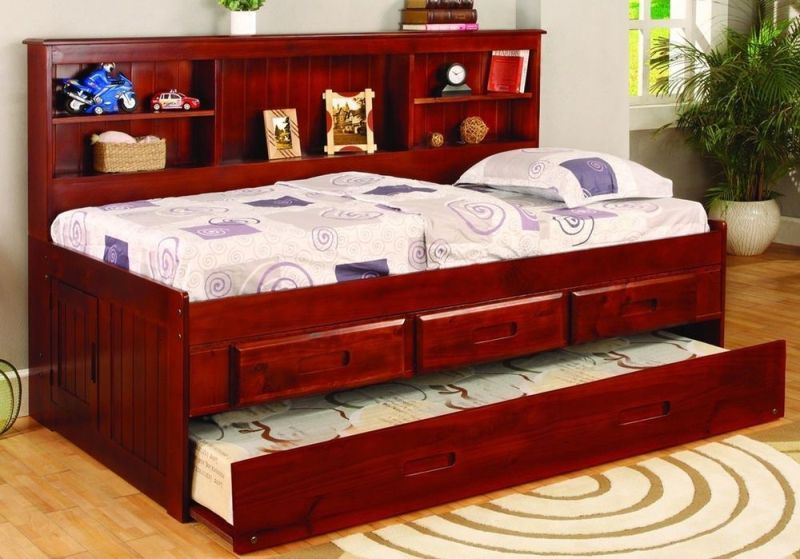 Twin Bed With Trundle And Drawers DIY