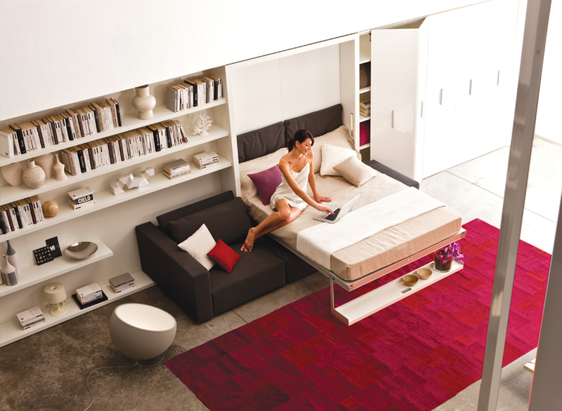 Image of: Twin Murphy Bed Apartment Therapy