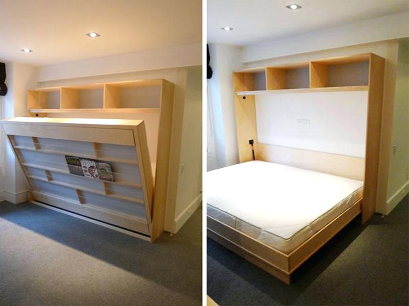 Picture of: Twin Murphy Bed Horizontal