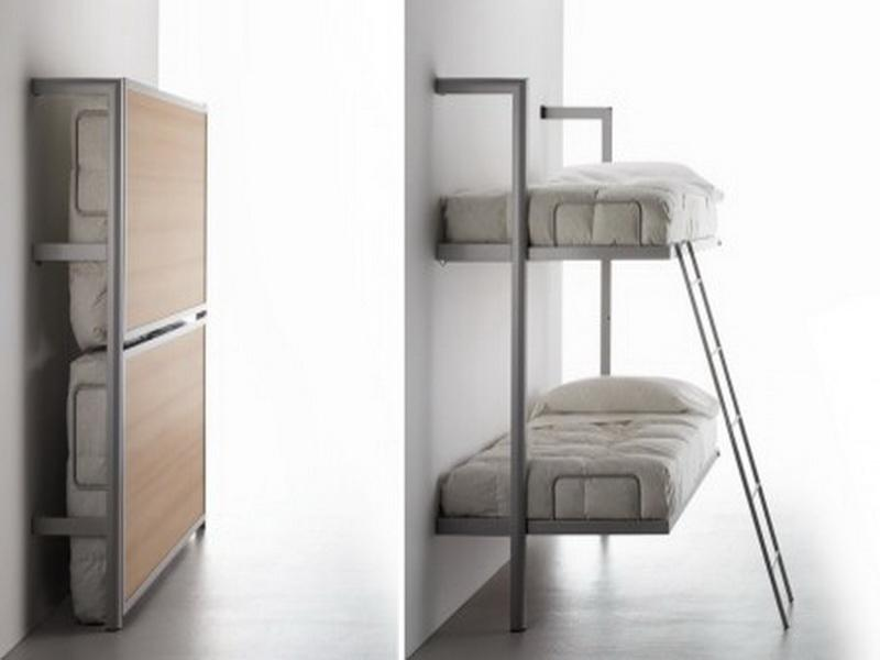 Image of: Twin Murphy Bunk Bed