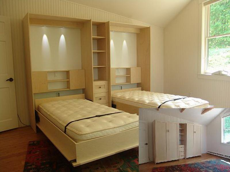Image of: Twin Size Murphy Bed