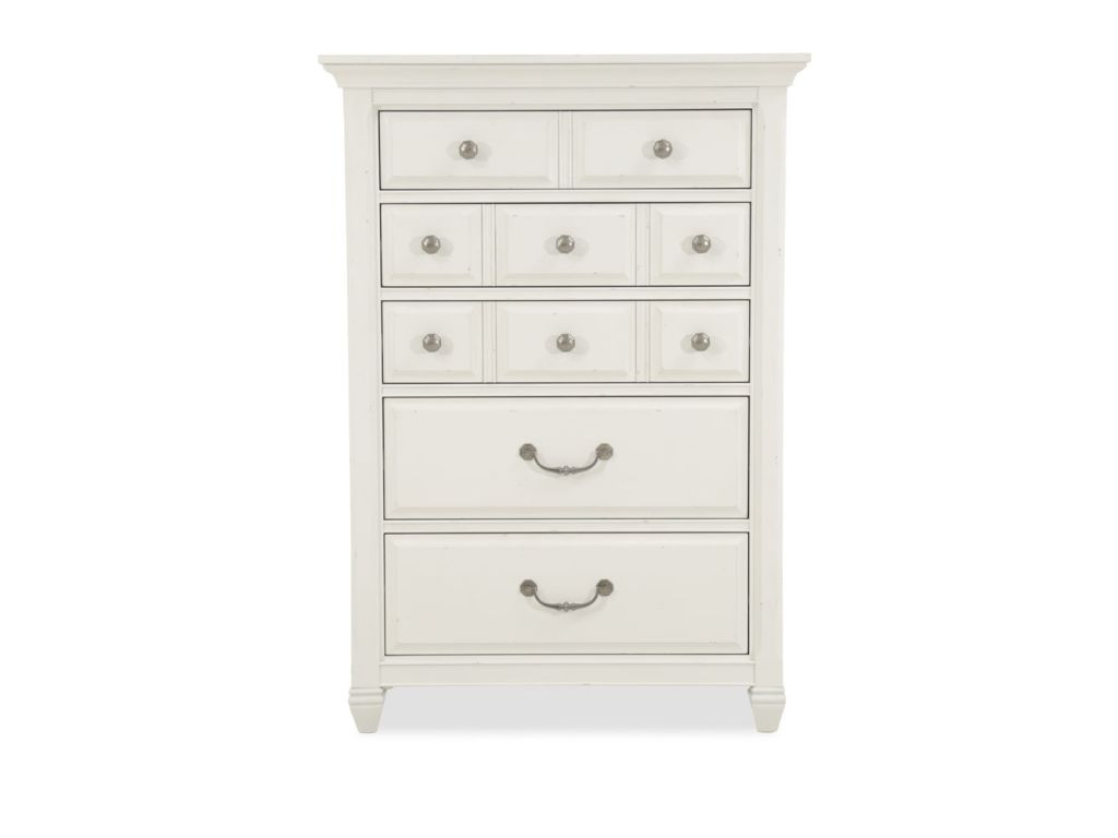 Image of: 10 Drawer Dresser White