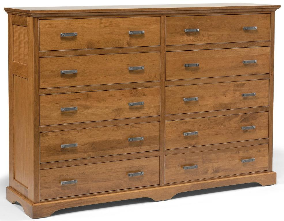 Image of: 10 Drawer Dresser With Mirror