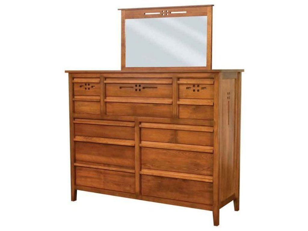 Image of: 12 Drawer Dresser With Mirror