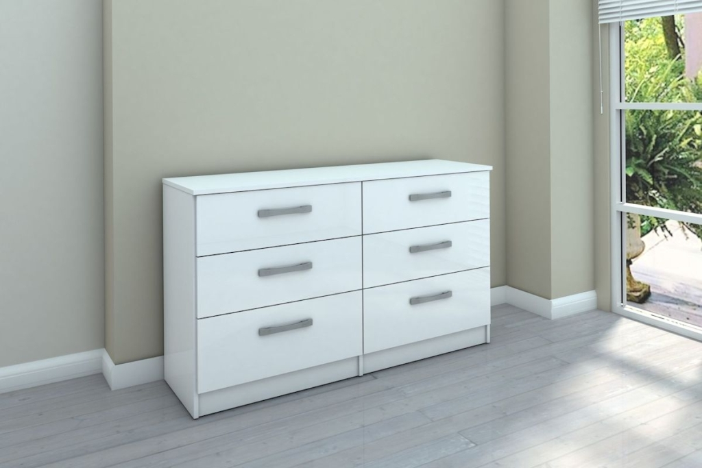 Image of: 6 Drawer Dresser Chest