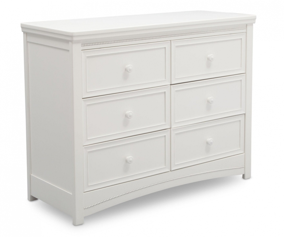 Image of: 6 Drawer Dresser White Walmart