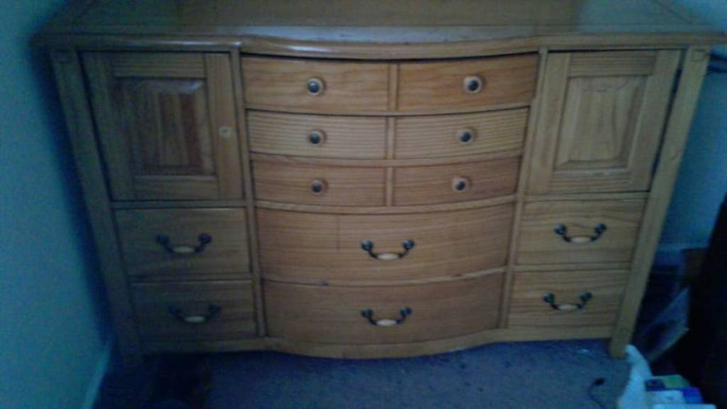 Image of: 8 Foot Dresser