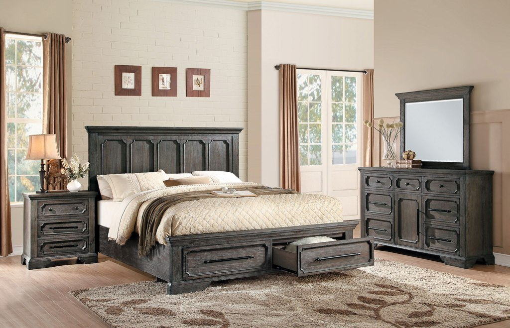 Image of: Acacia Bedroom Set