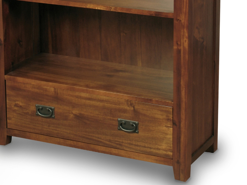 Image of: Acacia Wood Dresser IKEA