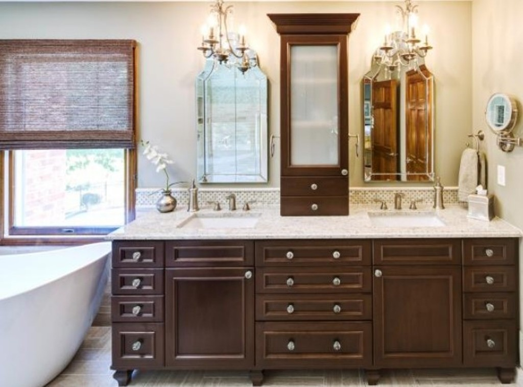 Amazing Dresser Bathroom Vanity