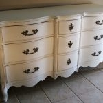 Antique White Distressed Dresser