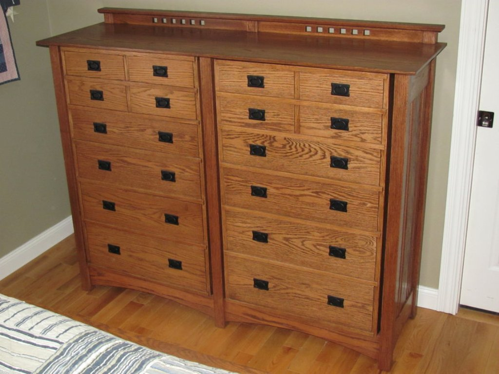 Picture of: Arts And Crafts Dresser Plans Free