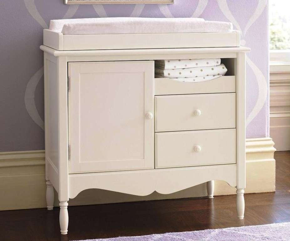 Baby Changing Table Dresser White