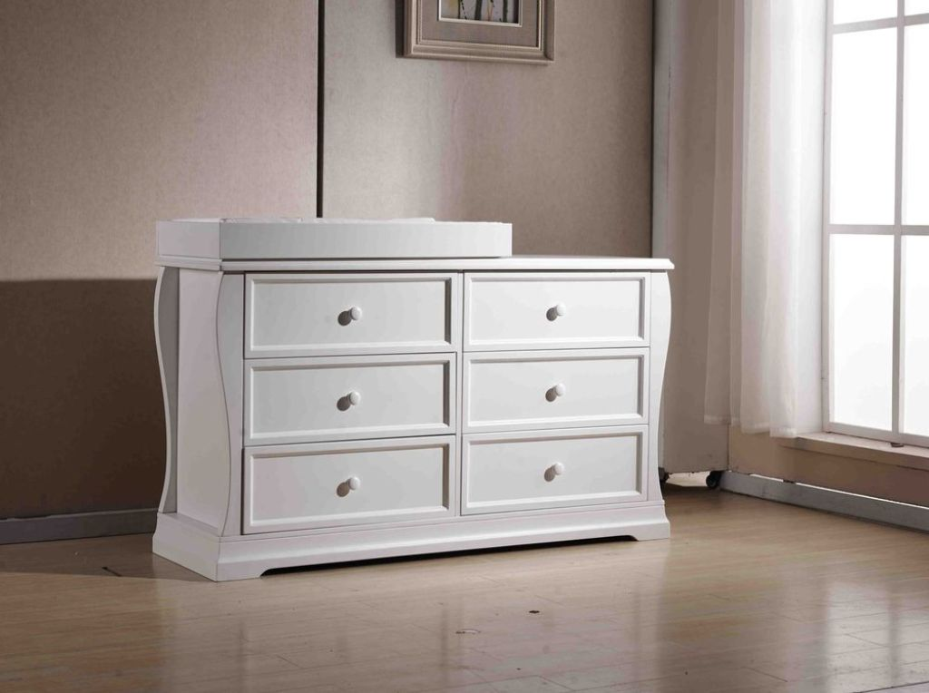 Image of: Baby Dresser With Changing Table With Drawers