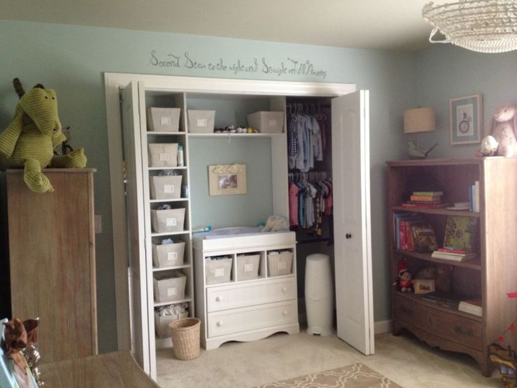 Image of: Baby Dresser With Closet