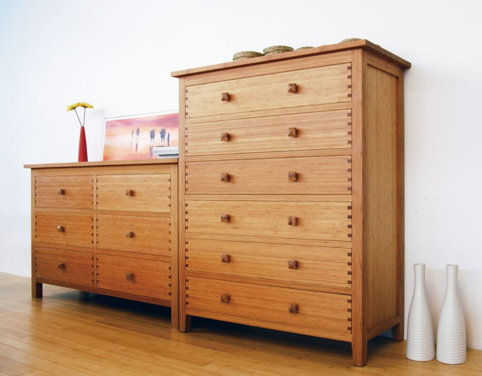 Image of: Bamboo Dresser Furniture Designs