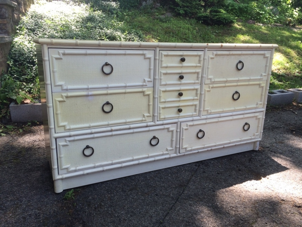 Image of: Bamboo Dresser White Ideas