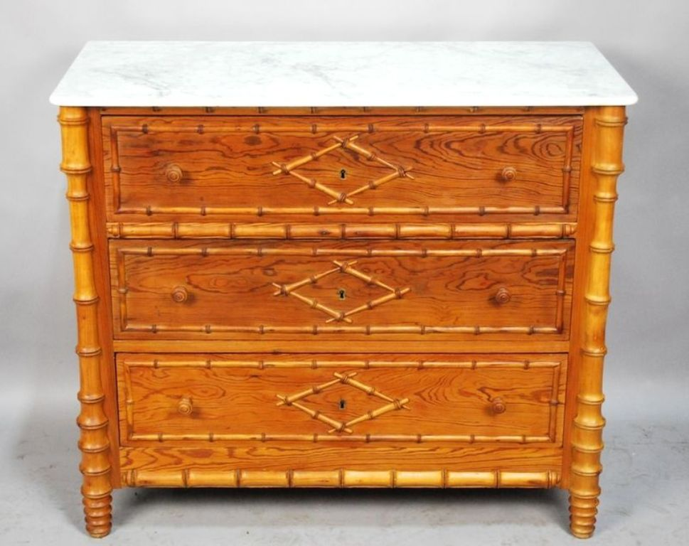 Image of: Modern Bamboo Style Dresser