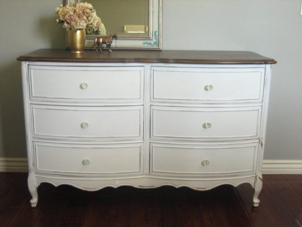Image of: Best Drawer Dresser White