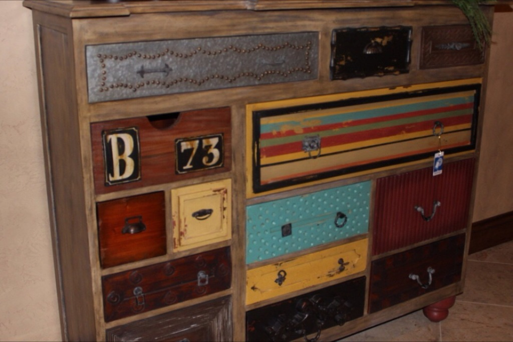 Best Dresser With Different Colored Drawers