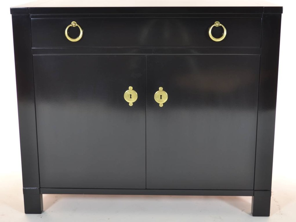Image of: Black Lacquer Armoire