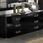 Black Lacquer Dresser Furniture