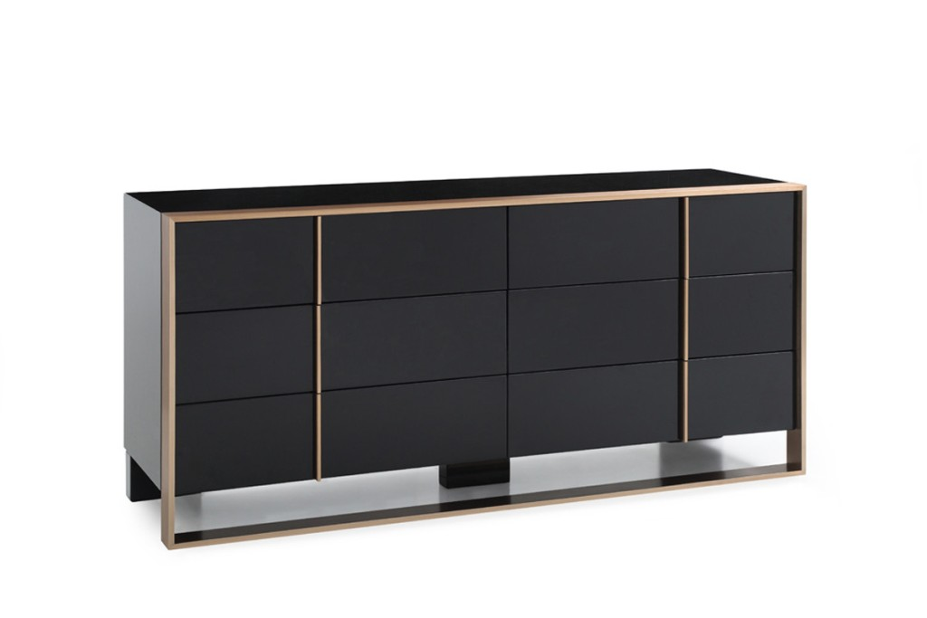 Picture of: Black Modern Dresser Style