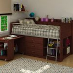 Bunk Beds With Dresser Built In And Study