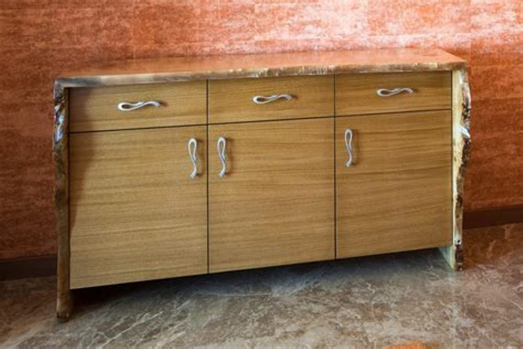 Image of: Burl Wood Chest Of Drawers