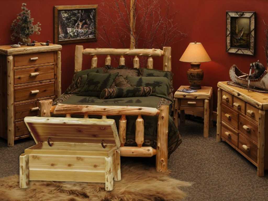 Image of: Cedar Bedroom Furniture