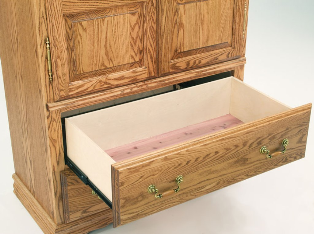 Image of: Cedar Lined Dresser Drawers