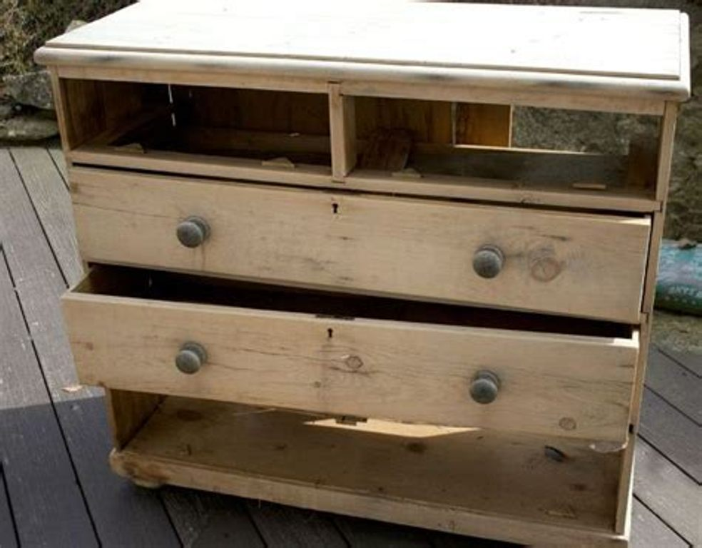 Picture of: Chalk Paint Dresser Makeover