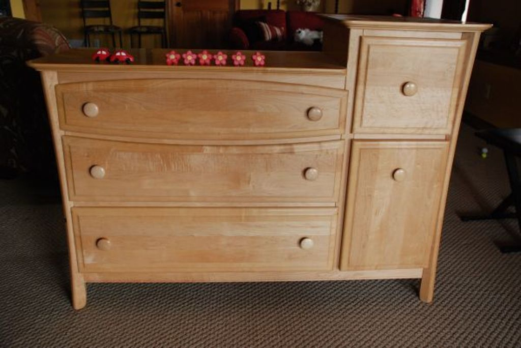 Picture of: Changing Table Dresser Combo