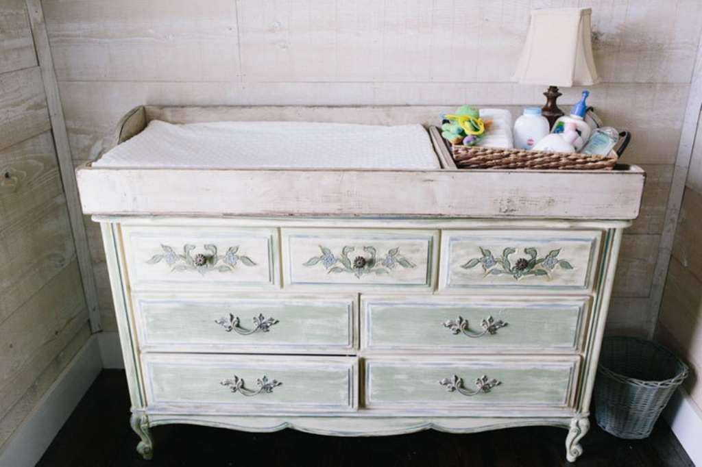 Image of: Changing Table Topper