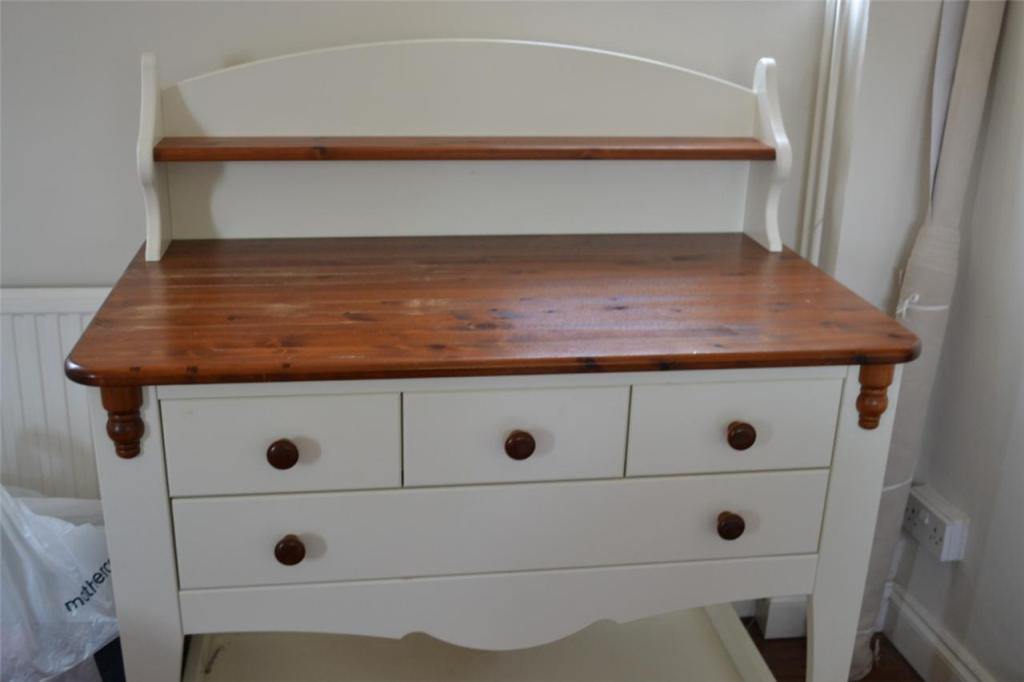 Picture of: Changing Table With Drawers Decor