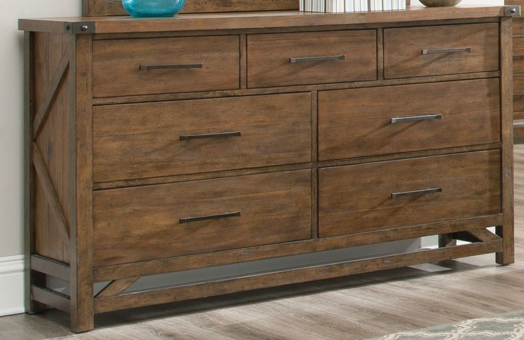 Image of: Cheap Acacia Wood Dresser